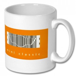 Mini Classic Barcode Origins Mug