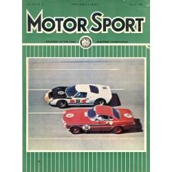 Motor Sport Magazine March 1966