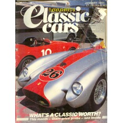 Thoroughbred & Classic Cars January 1986