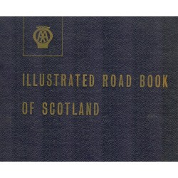 AA Ilustrated Road Book Of Scotland