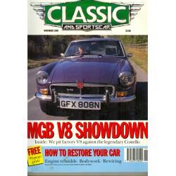 Classic and Sportscar November 1990