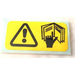 Handbook Warning Label Sticker