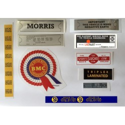 ADO16 Morris 1100 1300 Sticker Pack 9