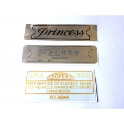 Vanden Plas Princess Sticker Pack 1