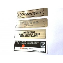 Vanden Plas Princess Sticker Pack 6
