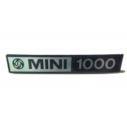 Leyland Mini 1000 Boot Badge