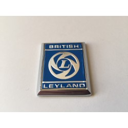 British Leyland A Panel Badge - Silver/Blue