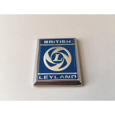 British Leyland A Panel Badge - Silver/Blue