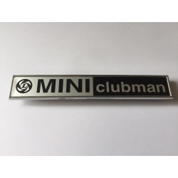 Mini Clubman Boot Badge