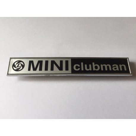 Mini Clubman Boot Badge