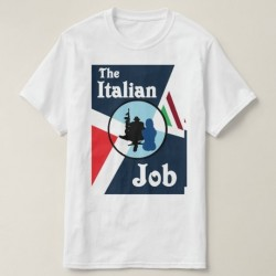 Italian Job Artwork T-Shirt