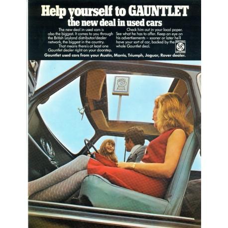 Gauntlet Used Leyland Cars Canvas Wall Art