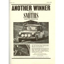 Another Winner Mini Cooper 'S' Canvas Wall Art