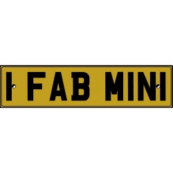 1 FAB MINI Window Sticker
