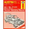 Austin Metro MG & Vanden Plas Haynes Repair Manual (Haynes Service and Repair Manual)