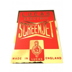 Lucas Sports Coil Alloy Effect Sticker SA12SM