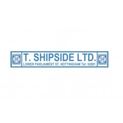 T. SHIPSIDE Nottingham British Leyland Replica Dealer Sticker