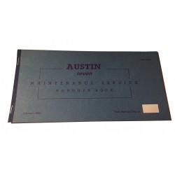 Austin Seven & Mini Replica Maintenance Service & Voucher Book 1961