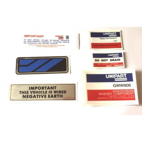 Austin Allegro Sticker Pack 12