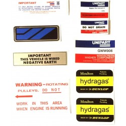 Austin Allegro Sticker Pack 14