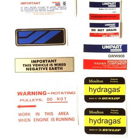 Austin Allegro Sticker Pack 14