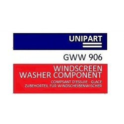 Windscreen Washer Bottle Sticker for Austin Mini etc  GWW906