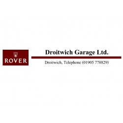 Droitwich Garages Ltd Replica Dealer Window Sticker