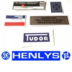 Austin Allegro Sticker Pack 4 & Dealer Sticker