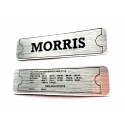 Morris Minor Engine Sticker Bundle 1