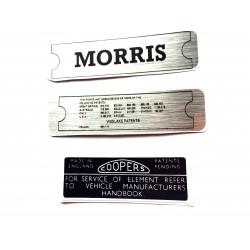 Morris Minor Engine Sticker Bundle 4