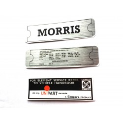 Morris Minor Engine Sticker Bundle 5