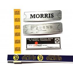 Morris Minor Engine Sticker Bundle 9