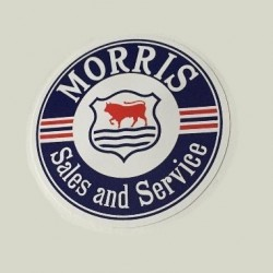 Morris Sales & Service Bumper Sticker