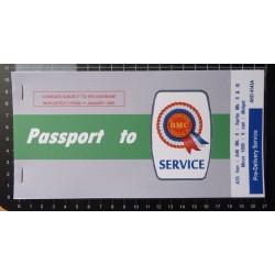 BMC Morris Passport to Service Book