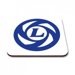 British Leyland Plug Hole Logo Coaster Set x4
