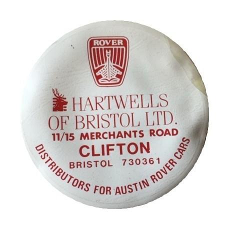 Hartwells of Bristol Ltd Austin Rover Replica Tax Disc Holder - Special Order