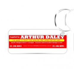 Premium Arthur Daley Motorama Key Ring