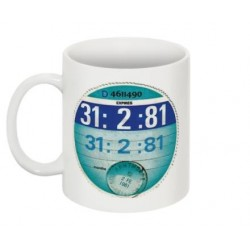 Fully Personalised Tax Disc Mug (upto 2004)
