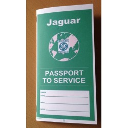 British Leyland Jaguar Passport to Service Booklet