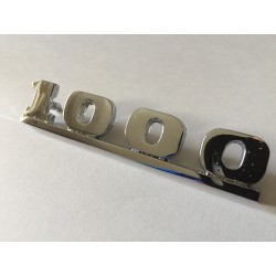 Chrome 1000  Mk2 Boot Badge