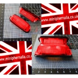 Universal Wing Mounted Indicator/ Running Lamps (RED)