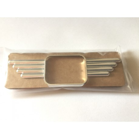 """Mini """"Wing"""" Badge (fits around side repeater) - pair"""