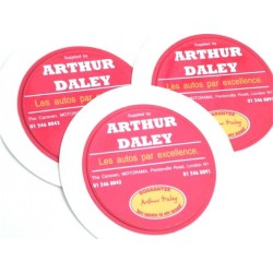 Arthur Daley MOTORAMA Replica Tax Disc Holder