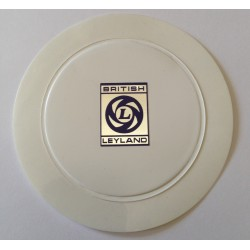 Replica British Leyland Tax Disc Holder with Alloy Effect Logo