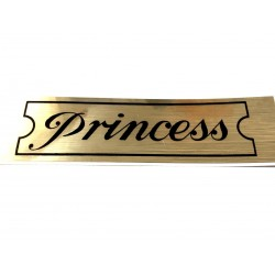 Princess Rocker Cover Sticker