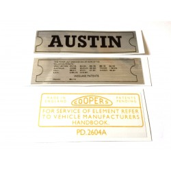 ADO16 Austin 1100 1300 Sticker Pack 1
