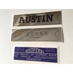 ADO16 Austin 1100 1300 Sticker Pack 2