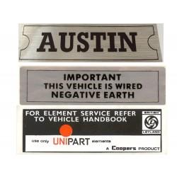 ADO16 Austin 1100 1300 Sticker Pack 3