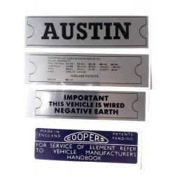 ADO16 Austin 1100 1300 Sticker Pack 5
