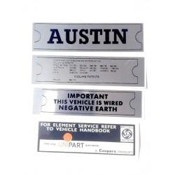 ADO16 Austin 1100 1300 Sticker Pack 6
